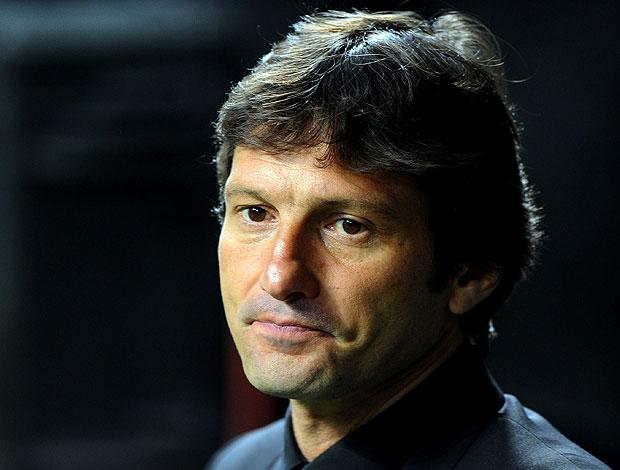 Leonardo na derrota do Inter de Milão para o Schalke (Foto: EFE)