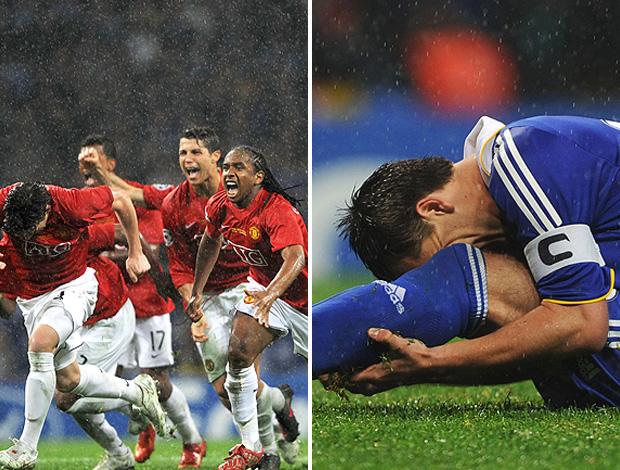 Montagem Manchester x Chelsea (Foto: Montagem sobre foto da Reuters)