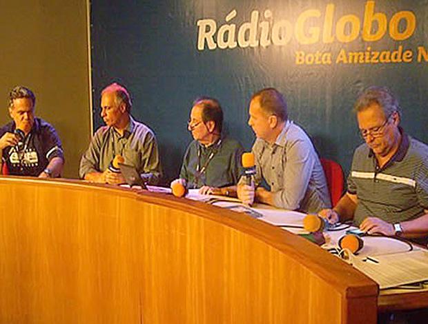 Mano Menezes rádio o Globo (Foto: Site Oficial)