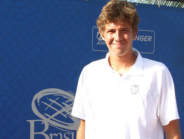 Christian Lindell tênis Challenger Pernambuco (Foto: Divulgação)