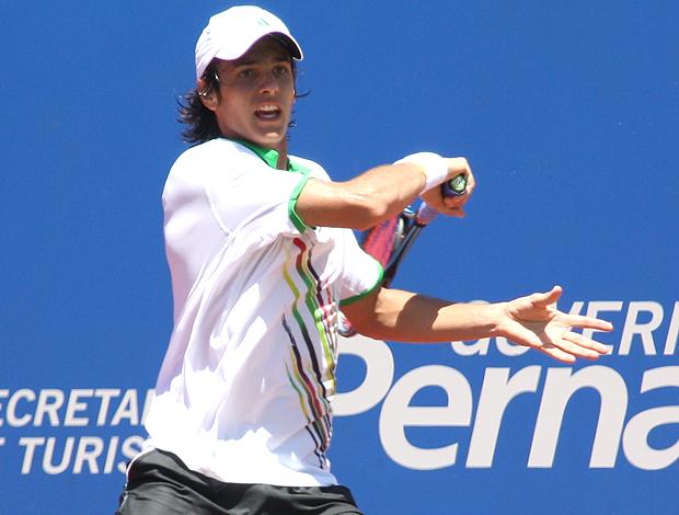Tiago Fernandes tênis Pernambuco Challenger  (Foto: Divulgação / Nelson Oliveira)