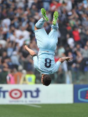 Anderson Hernanes Lazio x Parma (Foto: AFP)