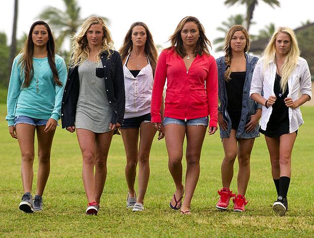 Surfe meninas filme Nike 6.0 (Foto: Divulgação)