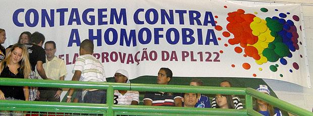 Torcida Cruzeiro Contagem  (Foto: Marco Antônio Astoni / Globoesporte.com)