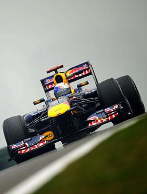 Sebastian Vettel GP da China treinos sexta-feira RBR (Foto: Getty Images)