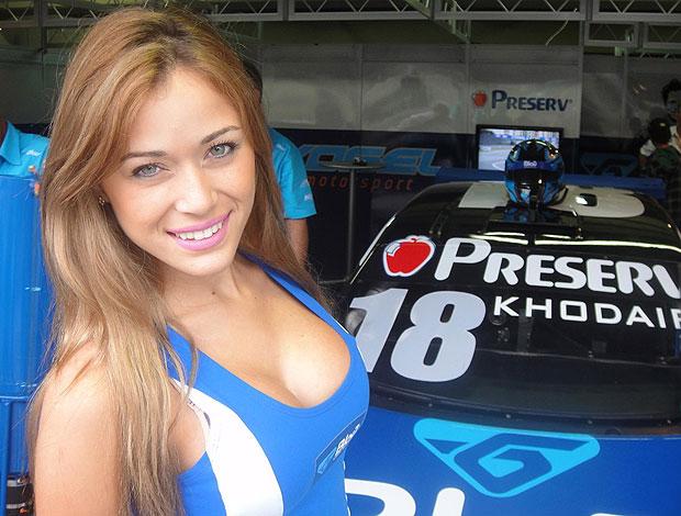 Gata da Stock 2011: Yara Chaves é a vencedora da etapa de São Paulo (Foto: Rafael Honório / Globoesporte.com)
