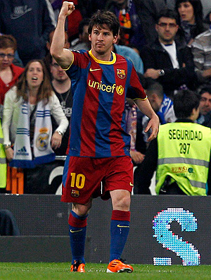 messi gol real madrid x barcelona (Foto: EFE)