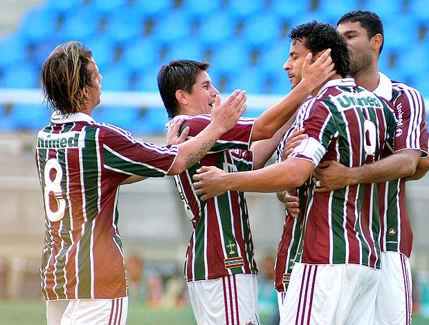 Fred gol Fluminense (Foto: Photocamera)