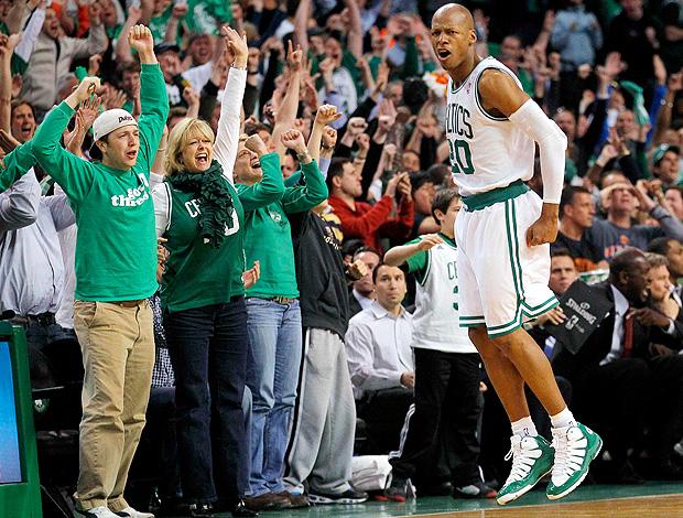 Ray Allen Boston Celtics NBA (Foto: Reuters)