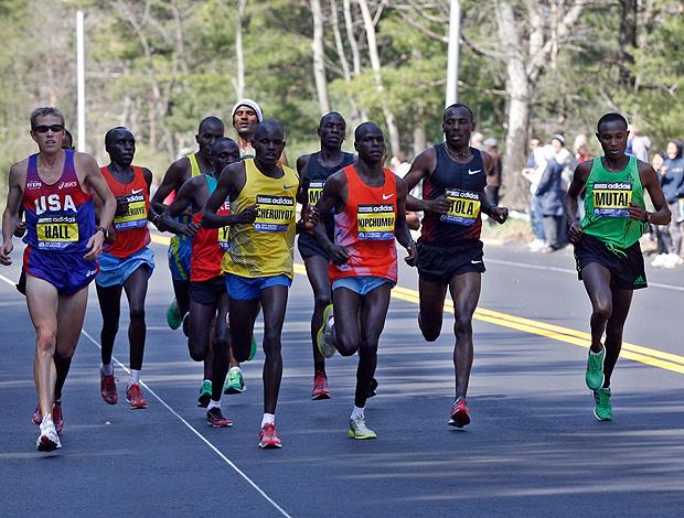 maratona de boston (Foto: AP)