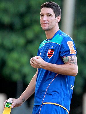Thiago Neves treino Flamengo (Foto: Fernando Maia / O Globo)
