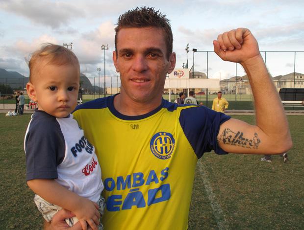 Jogador do Horizonte (Foto: Carlos Mota / Globoesporte.com)