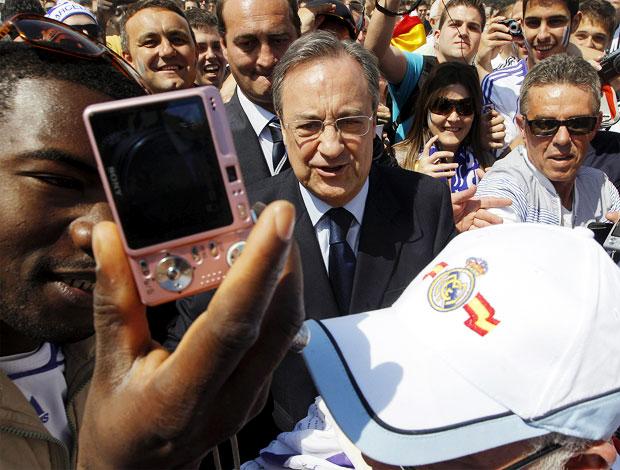 copa do rei   torcida real madrid florentino perez (Foto: EFE)
