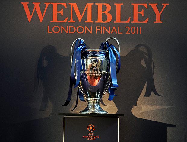 taça liga dos campeões wembley (Foto: agência EFE)