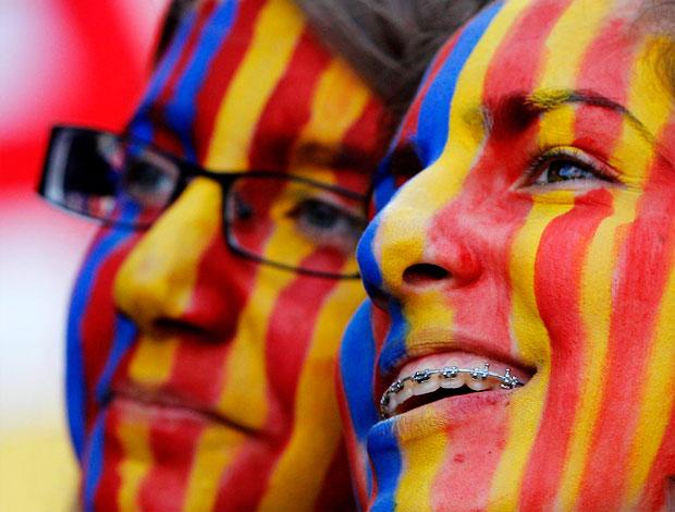 torcida barcelona copa do rei (Foto: EFE)