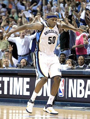 Zach Randolph, do Memphis Grizzlies  (Foto: AP)