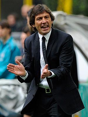 Leonardo na partida do Inter de Milão contra o Lazio (Foto: AP)