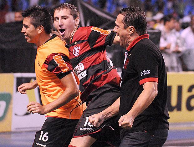 Luxemburgo Bottinellil Fierro Flamengo (Foto: Alexandre Vidal / Fla Imagem)