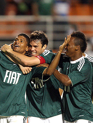 Márcio Araujo gol Palmeiras (Foto: Ag. Estado)