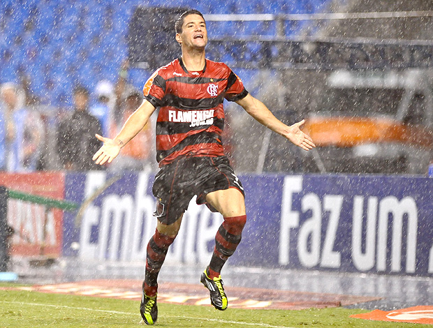 Thiago Neves gol flamengo (Foto: Ag. Estado)