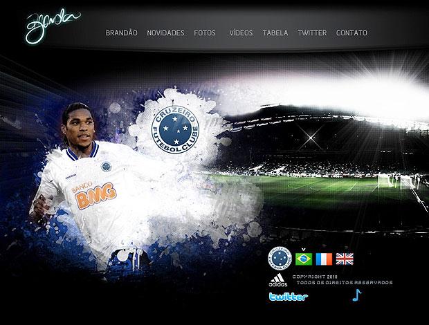 5847151b43e27 Atacante Brandão erra o nome do Cruzeiro no site oficial do jogador ...