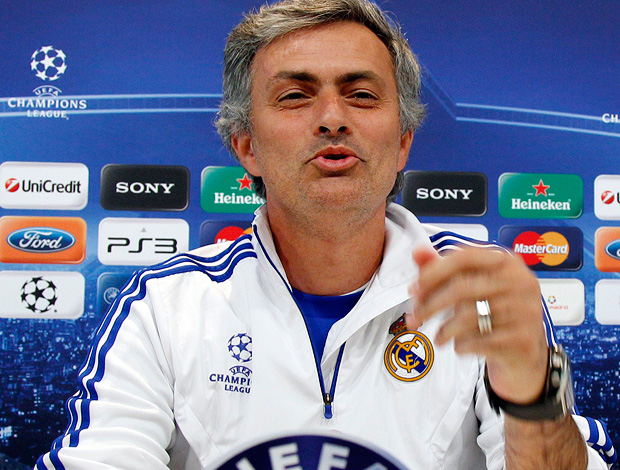 josé mourinho real madrid coletiva (Foto: agência EFE)