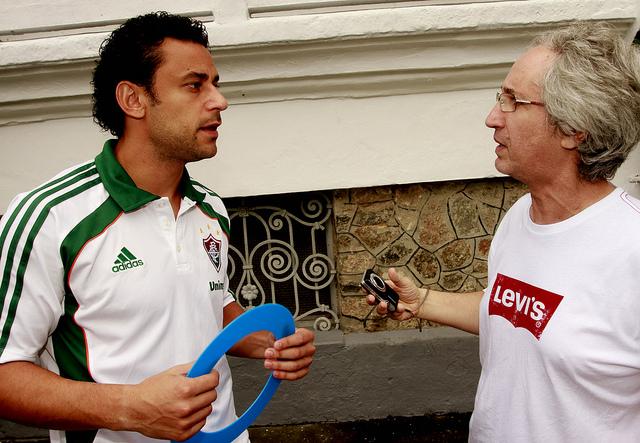 Fred camapnha diabetes (Foto: Edgard Maciel de Sá / GLOBOESPORTE.COM)