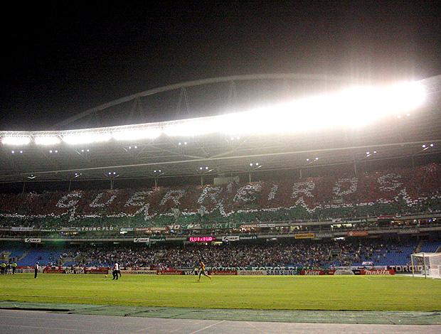 Mosaico Fluminense x Peñarol (Foto: Photocamera)