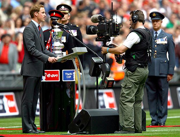 príncipe william final fa cup 2007 (Foto: agência Getty Images)