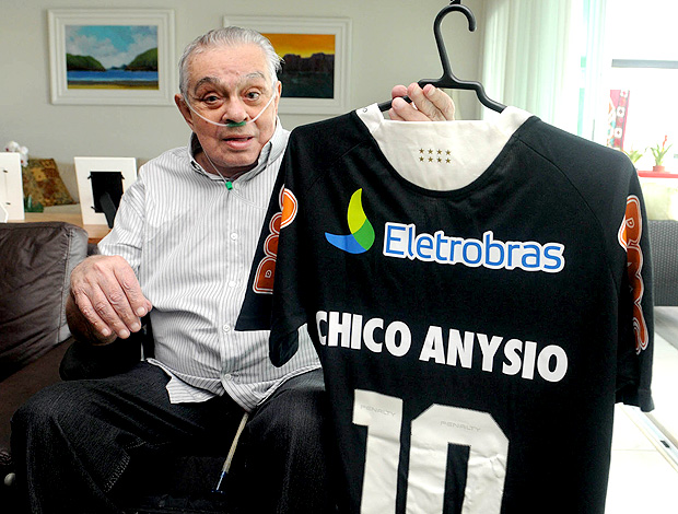 Chico anysio camisa do vasco (Foto: André Durão / Globoesporte.com)