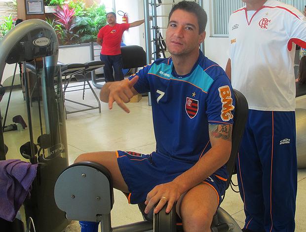 thiago neves flamengo   (Foto: Janir Jr/Globoesporte.com)