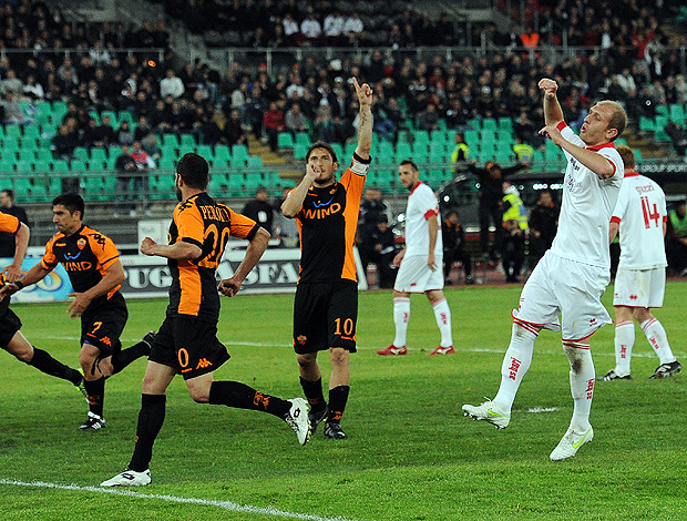 totti roma gol  (Foto: agência Getty Images)