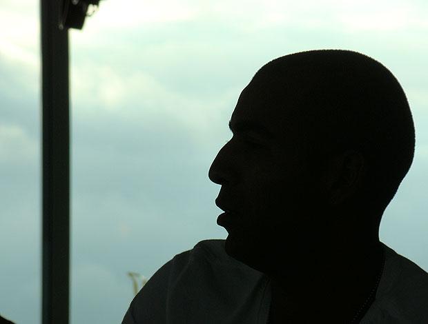 Emerson durante entrevista (Foto: Eduardo Peixoto / Globoesporte.com)