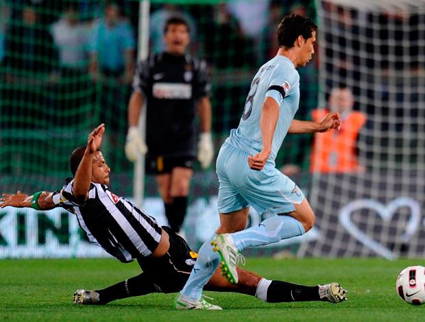 Hernanes do Lazio x Felipe melo do Juventos (Foto: EFE)
