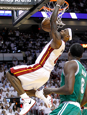 Lebron James Miami NBA (Foto: AP)