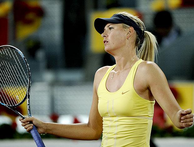 Maria Sharapova tênis Madri oitavas (Foto: AFP)