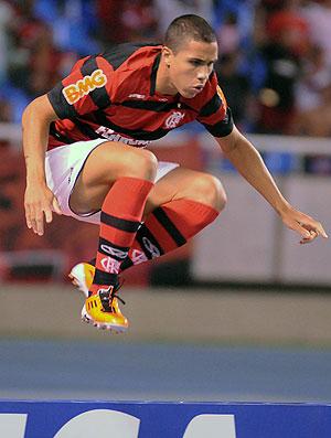 Wanderley comemora gol do Flamengo contra o Ceará (Foto: Alexandre Vidal / Fla Imagem)