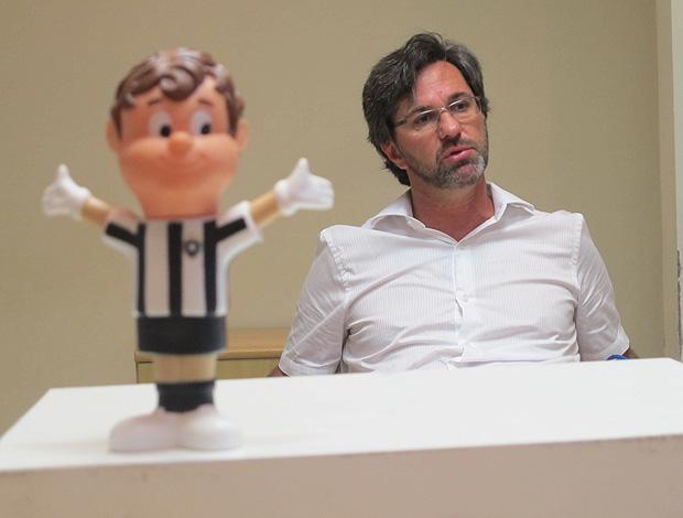 caio junior  botafogo entrevista (Foto: Thales Ramos?Globoesporte.com)