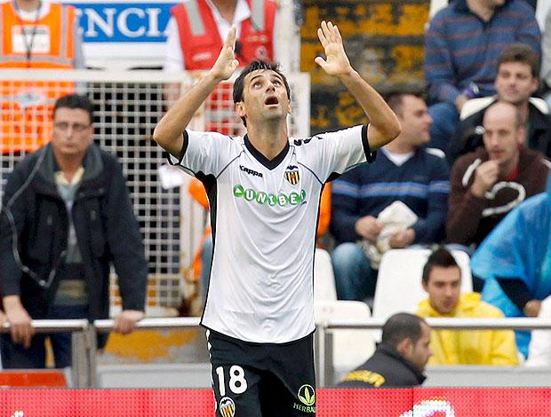 Jonas gol Valencia (Foto: EFE)