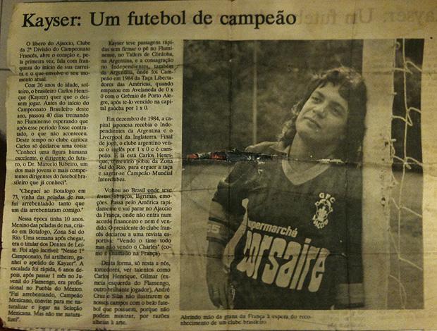 kaiser jornal  (Foto: Divulgação)