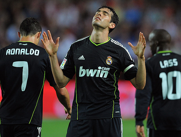 kaka real madrid x sevilla (Foto: Getty Images)