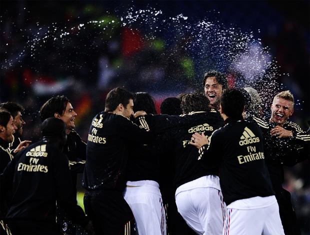 milan campeão italiano (Foto: AFP)