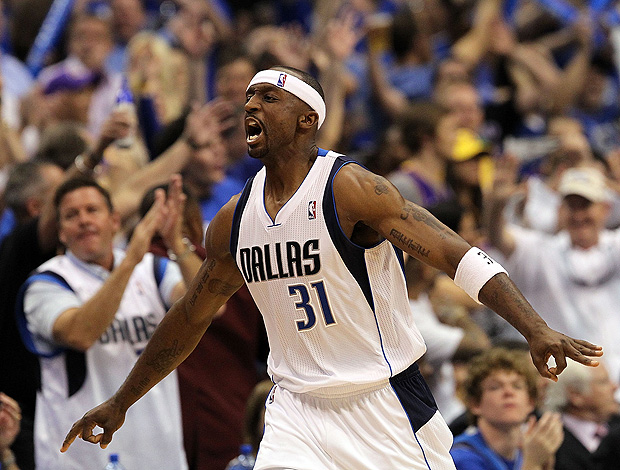 Los Angeles Lakers x Dallas Mavericks jason terry (Foto: Getty Images)