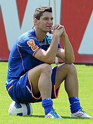 Thiago Neves treino Flamengo (Foto: Alexandre Vidal / Fla Imagem)
