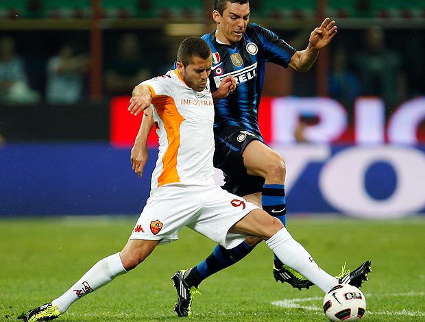 lucio internazionale x roma (Foto: AP)