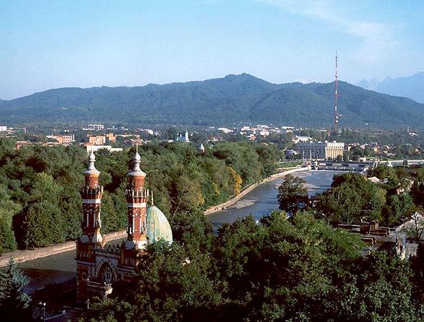 cidade de Vladikavkaz (Foto: Divulgação)
