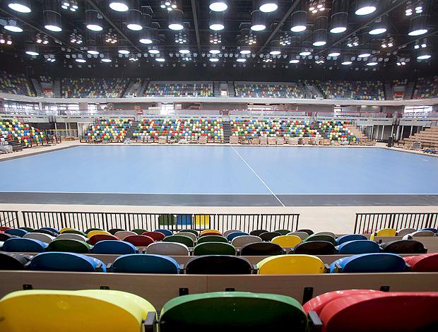 ginásio de vôlei de Londres 2012  (Foto: EFE)