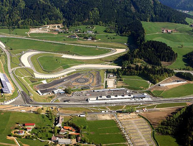 Red Bull Ring será reinaugurado no domingo na Áustria (Foto: Divulgação)