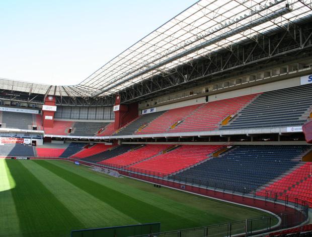 Guia de estádios do Brasileirão  arena da baixada (Foto: Divulgação)