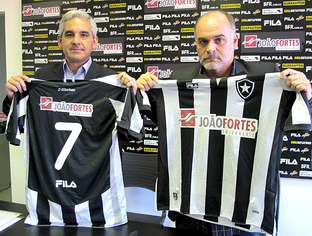 Francisco de Almeida e Silva  Maurício Assumpção Botafogo (Foto: Gustavo Rotstein / Globoesporte.com)